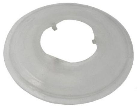 Plastový tanier pod kazetu, 3-zubý