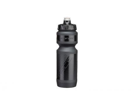 Fľaša CTM Trice 0,8 l - čierna/čierne.logo