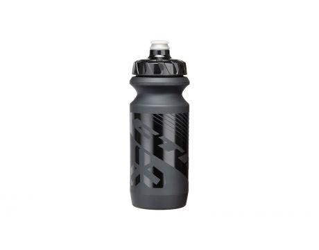 Fľaša CTM Trice 0,6 l - čierna/čierne logo
