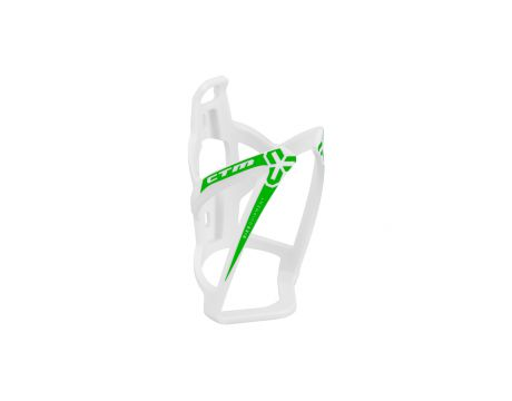 Držiak na fľašky CTM X-WING, plastový, biela/zelená