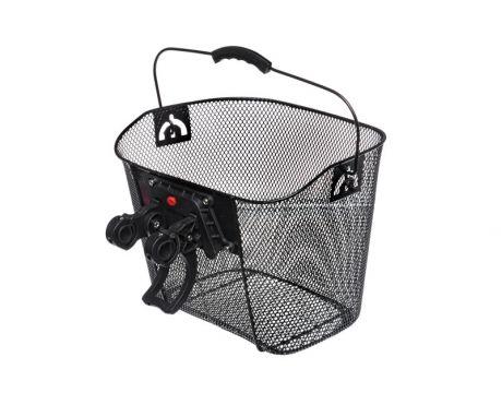 Košík drôtený s Clip-on držiakom na riadidlá