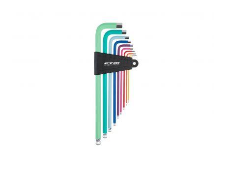 Sada náradia CTM HEX, sada farebných imbusových kľúčov