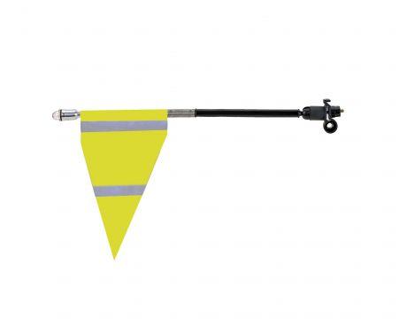Bezpečnostná vlajka žltá