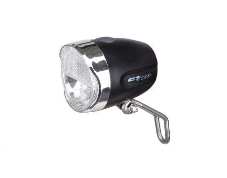 Osvetlenie predné CTM TUAY, 40 lux, batériové