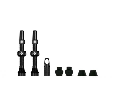 Muc-Off Black Tubeless Valve 44mm
