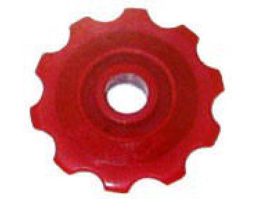 Kladka prehadzovačky,malá, červená