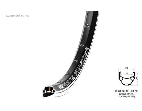 Ráfik DRAGON RMX 719 LINE, 622x19 BA+GBS, 36o.