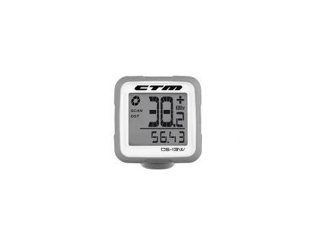 Tachometer CTM, silikónový, šedý