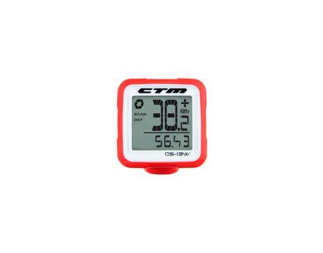 Tachometer CTM, silikónový, červený