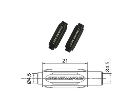 BSA057 nast. skrutka na cestné brzdy,4,5mm čierna