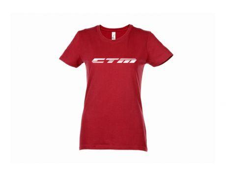 Tričko CTM červené, dámske, XL