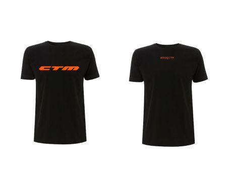 Tričko CTM 2019, pánske orange, L