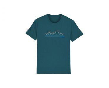 Tričko CTM, pánske, modrá, 2020, S