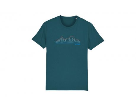 Tričko CTM, pánske, modrá, 2020, M