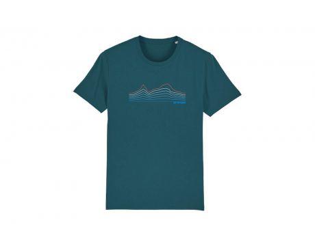 Tričko CTM, pánske, modrá, 2020, XL