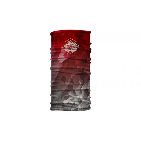 Šatka CTM WRAP, Marble badge červená