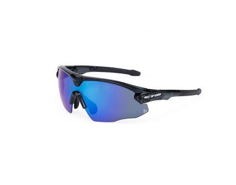 Okuliare CTM - TESTA čierna/modrá