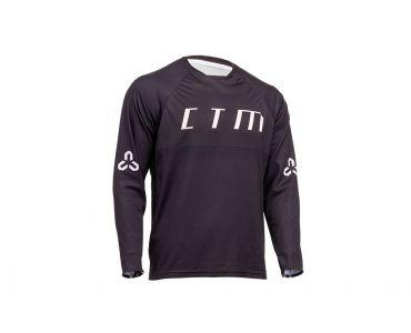 CTM Dres CTM Rovay L/S 20, dlhý rukáv,čierna,XL