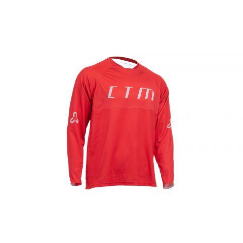 Dres CTM Rovay L/S 20, dlhý rukáv,červená, XXL