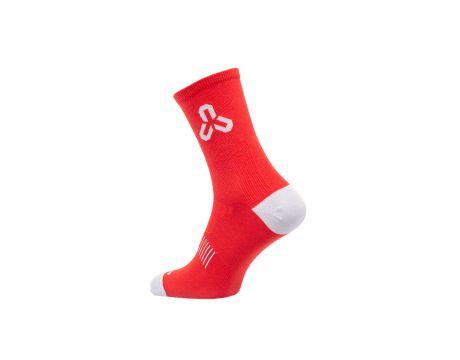 Ponožky CTM Base 16, coolmax, červené, 43-47