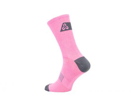 Ponožky CTM Base 16, ružové, 34-37