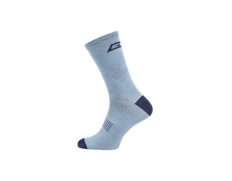 Ponožky CTM Base16, petrolejová/šedá, 43-47