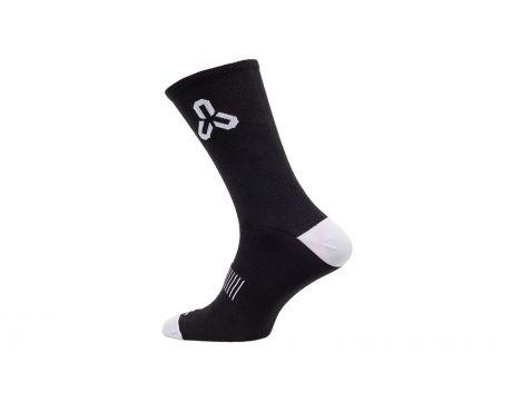 Ponožky CTM Base 20, coolmax, čierne, 43-47