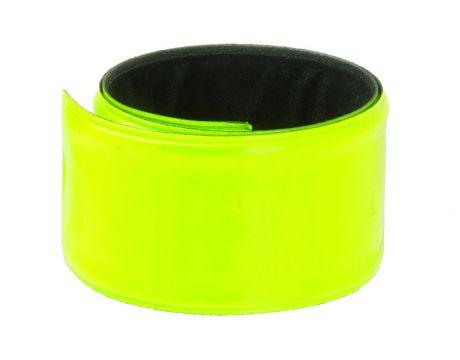 Reflexná páska samonavíjacia, pár na blistri, žltá