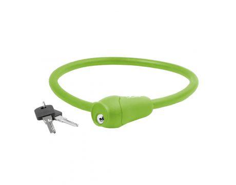 Zámok slučkový, 12x650mm, zelený