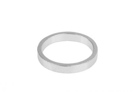 Dištančný krúžok 5mm, strieborný