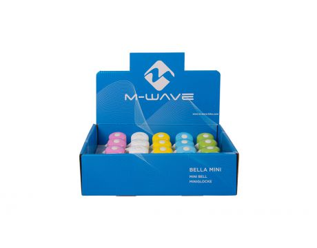 Zvonček M-Wave mini, farebné