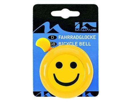 Zvonček Smajlík, oceľový žltý