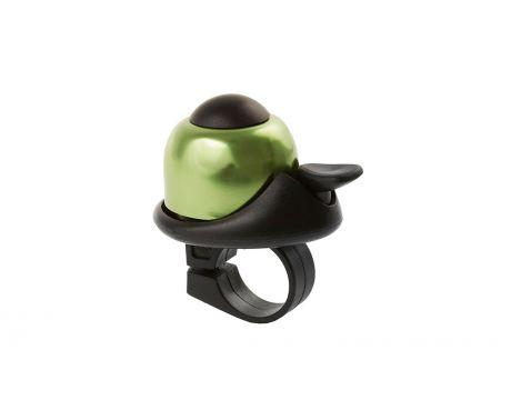 Zvonček mini BELL, na karte, zelený