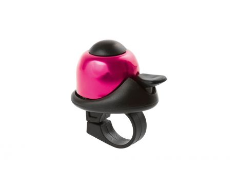 Zvonček mini BELL, na karte, ružový