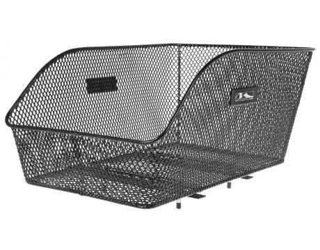 Košík drôtený na nosič M-Wave, čierny