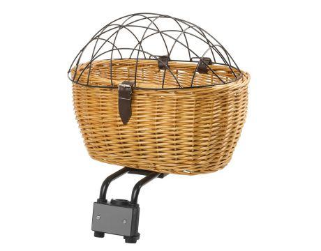 Košík prútený Clip-on na riadidlá,2v1, pre psíka