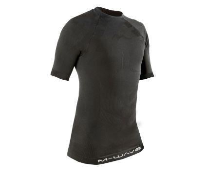 Tričko M-Wave, kr.rukáv, čierne, XS/S