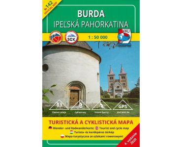 VKÚ Mapa Burda – Ipeľská pahorkatina