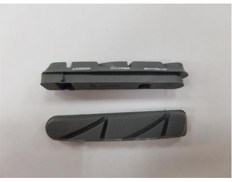 Brzdové gumičky Extend RACEPRO EBS-PRO carbon 02V, white, cartridge