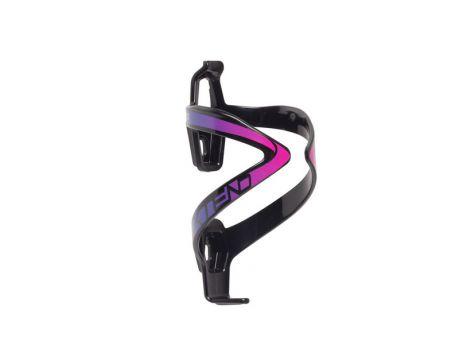 Košík na fľašu Extend ANYX 70, black-purple