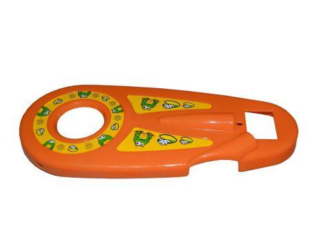 Kryt reťaze FUNNY 12 - oranžový