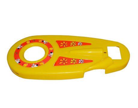 Kryt reťaze FUNNY 12 - žltý
