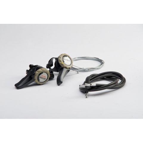 Radiace páčky SAIGUAN 7-rýchlostné dual-iIndex