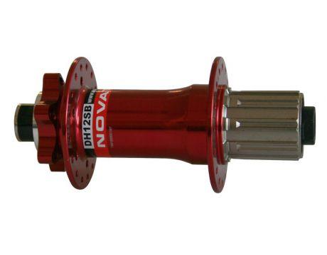 Náboj Novatec DH12SB, zadný, 36-dierový, červený