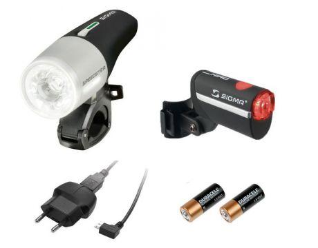 Sada osvetlenia SIGMA Speedster USB  /  Hiro