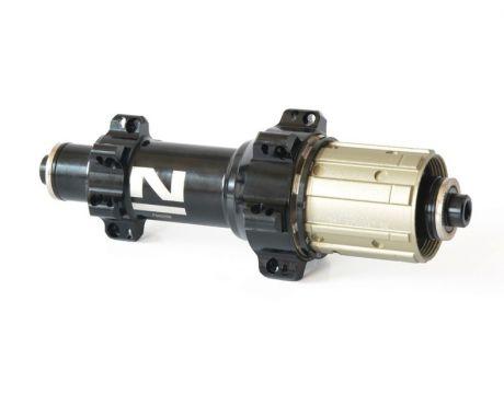 Náboj Novatec FS522SB-11S, zadný, 24-dierový, čierny (nový dizajn loga)