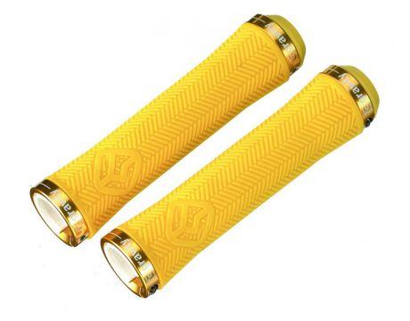 Rukoväte GRAVITY Light Thin LockOn, Yellow