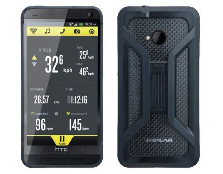 Puzdro s držiakom Topeak RIDE CASE (New HTC One ) čierne