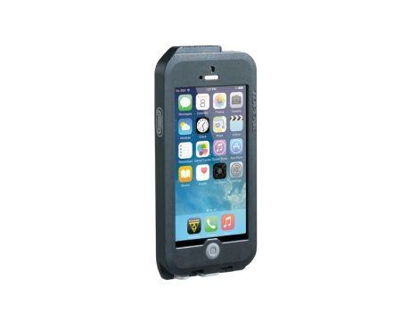 Puzdro  Topeak WEATHERPROOF RIDE CASE (iPhone 5) čierno-šedé (s držiakom)