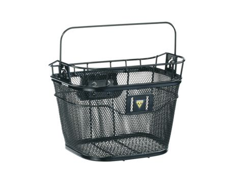 Košík predný Topeak BASKET FRONT (Fixer 3e) čierny